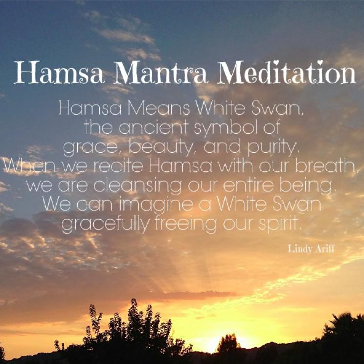 Hamsa Mantra Meditation Lindy Ariff