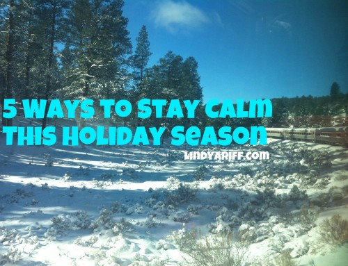 5 Ways to Stay Calm This Holiday Season