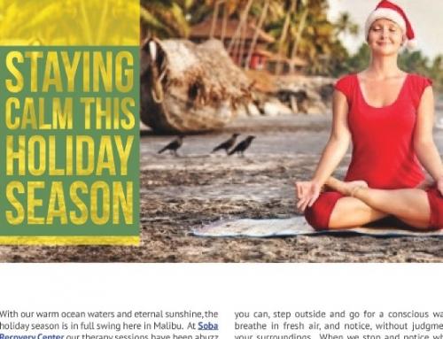 Staying Calm This Holiday Season