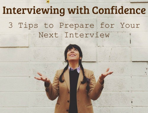 Interviewing with Confidence