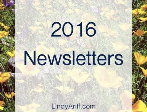2016 Newsletters & Recap